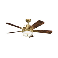 Kichler Lighting Lacey Fan in Burnished Antique Brass 300181BAB photo thumbnail