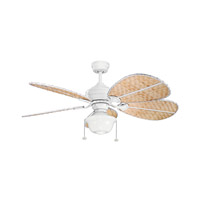Kichler 370054 Signature Matte White 22 inch each Fan Blade Set Bamboo