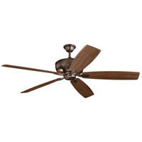 Kichler 300206OBB Monarch 70 inch Oil Brushed Bronze with CHERRY/WALNUT Blades Ceiling Fan alternative photo thumbnail