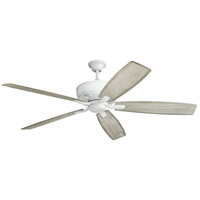 Kichler 300206WH Monarch 70 inch White with WHITE/WTHRD WHT WALN Blades Ceiling Fan photo thumbnail