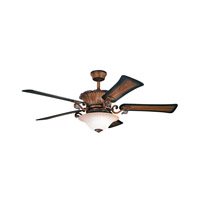 Kichler Rochelle 8 Light Fan in Mediterranean Walnut 300207MDW