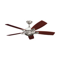 Kichler 300262AP Brinbourne Antique Pewter with Cherry Ms-98514 Blades Fan