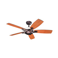 Kichler 300262OBB Brinbourne 54 inch Oil Brushed Bronze with Walnut MS-97503 Blades Fan