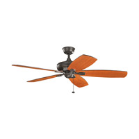 Kichler 300269OZ Ashbyrn 60 inch Olde Bronze with Medium Walnut/Cherry Blades Ceiling Fan