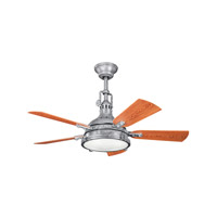 Kichler 310101GST Hatteras Bay Patio 44 inch Galvanized Steel with Walnut MS-97503 Blades Fan alternative photo thumbnail