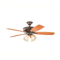 Kichler Lighting Monarch II Patio 4 Light Fan in Tannery Bronze Powder Coat 310103TZP photo thumbnail