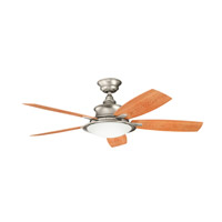 Kichler 310104NI Cameron Brushed Nickel with Walnut Ms-97503 Blades Outdoor Fan