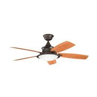 Kichler 310104TZP Cameron Tannery Bronze Powder Coat with Walnut Ms-97503 Blades Outdoor Fan alternative photo thumbnail