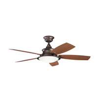 Kichler Lighting Cameron 3 Light Fan in Weathered Copper Powder Coat 310104WCP alternative photo thumbnail