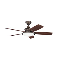 Kichler 310104WCP Cameron Weathered Copper Powder Coat with Walnut Ms-93801 Blades Outdoor Fan