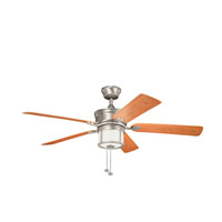 Kichler Lighting Deckard 3 Light Fan in Brushed Nickel 310105NI alternative photo thumbnail