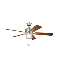 Kichler Lighting Deckard 3 Light Fan in Brushed Nickel 310105NI photo thumbnail