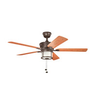 Kichler Lighting Deckard 3 Light Fan in Tannery Bronze Powder Coat 310105TZP
