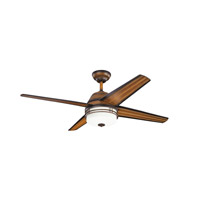 Kichler Porters Lake 3 Light Fan in Mediterranean Walnut 310110MDW