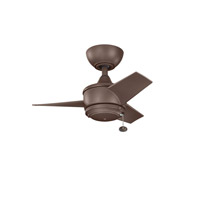 Kichler Yur Fan in Coffee Mocha 310124CMO