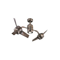 Kichler Yuree 1 Light Fan in Oil Brushed Bronze 310125OBB