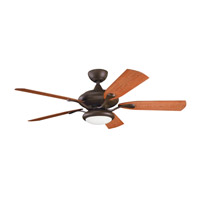 Kichler Lighting Aldrin Patio Fan in Tannery Bronze Powder Coat 310127TZP photo thumbnail
