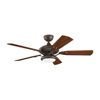Kichler Lighting Aldrin Patio Fan in Tannery Bronze Powder Coat 310127TZP alternative photo thumbnail