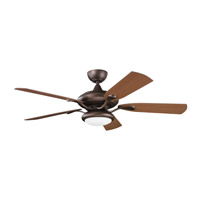 Kichler Lighting Aldrin Patio Fan in Weathered Copper Powder Coat 310127WCP photo thumbnail