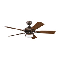 Kichler Lighting Aldrin Patio Fan in Weathered Copper Powder Coat 310127WCP alternative photo thumbnail