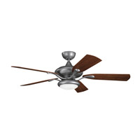 Kichler Lighting Aldrin Patio Fan in Weathered Steel Powder Coat 310127WSP alternative photo thumbnail