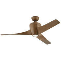 Kichler 310175WN Phree 56 inch WALNUT Indoor/Outdoor Ceiling Fan