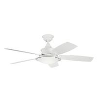 Kichler 310204WH Cameron 52 inch WHITE Indoor/Outdoor Ceiling Fan