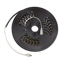 LED Tape Black 3200K 120 inch LED Tape Outdoor Location in 10ft