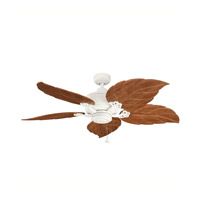 Kichler Lighting Crystal Bay Fan in Satin Natural White 320102SNW