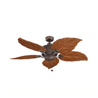 Kichler Lighting Crystal Bay Fan in Weathered Copper Powder Coat 320102WCP alternative photo thumbnail
