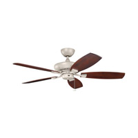 Canfield Antique Satin Silver with Blades Sold Separately Outdoor Fan