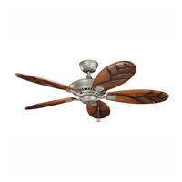 Kichler 320500ANS Canfield Antique Satin Silver with Blades Sold Separately Outdoor Fan alternative photo thumbnail