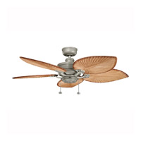 Kichler Lighting Crystal Bay Fan in Antique Satin (Blades Sold Separately) Silver 320510ANS alternative photo thumbnail