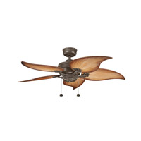 Kichler Lighting Crystal Bay Fan in Coffee Mocha (blades sold separately) 320510CMO