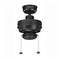 Kichler Lighting Crystal Bay Fan in Satin Black 320510SBK