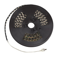 Kichler Lighting Exterior LED Tape IP67 High Output Yellow 20ft in Black Material 320HYBK