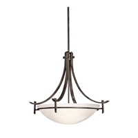 Kichler Lighting Olympia 3 Light Inverted Pendant in Olde Bronze 3278OZW photo thumbnail