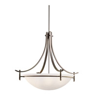 Kichler Lighting Olympia 5 Light Inverted Pendant in Olde Bronze 3279OZW photo thumbnail