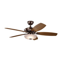 Kichler 330013OBB Canfield Pro 52 inch Oil Brushed Bronze with Cherry/Walnut Blades Ceiling Fan