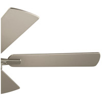 Kichler 330090BSS Arvada 44 inch Brushed Stainless Steel with SILVER/WALNUT Blades Ceiling Fan