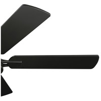 Kichler 330090SBK Arvada 44 inch Satin Black with WTHR WHT WALNUT/SATIN BLACK Blades Ceiling Fan