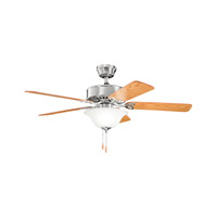 Kichler Renew Select 3 Light Fan in Brushed Stainless Steel 330110BSS