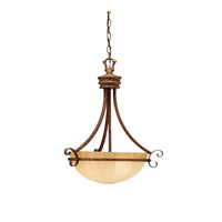 Kichler Lighting Northam 3 Light Inverted Pendant in Lincoln Bronze 3321LBZ