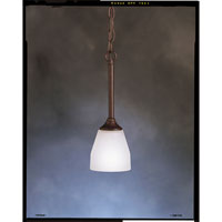 Kichler Lighting Signature 2 Light Outdoor Flush Mount in Tannery Bronze 345TZ