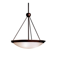 Kichler Lighting Signature 3 Light Inverted Pendant in Olde Bronze 3357OZ