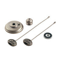 Fan Accessories Brushed Stainless Steel Fan Finial Kit