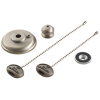Fan Accessories Brushed Nickel Fan Finial Kit