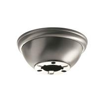 Kichler 337008TZ Fan Accessories Tannery Bronze Fan Flush Mount Kit