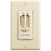 Kichler 337010IV Fan Accessories Ivory Fan Control in Ivory (Not Painted)