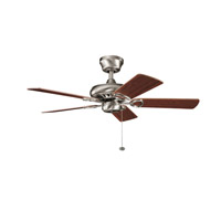 Kichler Lighting Sutter Place Fan in Antique Pewter 337013AP alternative photo thumbnail